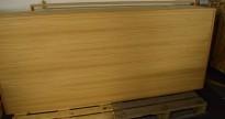 Modulvegg i eikefiner fra Kollegaveggen, høyde 267cm, mange bredder, pent brukt, nye 2014