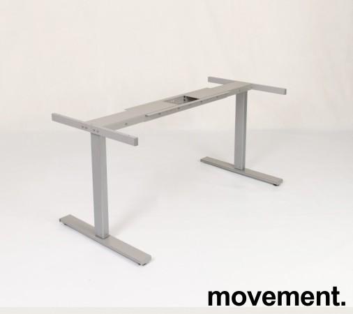 Linak Grått elektrisk hevsenk-skrivebord / understell til skrivebord, 140-200cm bredde, NY/UBRUKT bilde 6