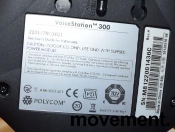 Konferansetelefon Polycom VoiceStation 300, pent brukt bilde 3