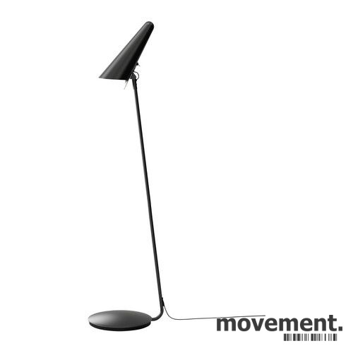 Ungdommelig Stålampe fra Ikea, i sort, LED stålampe,pent brukt PK-82