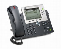 Cisco IP-telefon Unified IP-phone CP7961G-GE, pent brukt