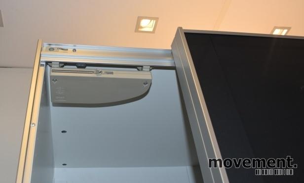 Ikea pax garderobe med uggdal gr glassfront 200cm bredde for Garderobe 200 cm