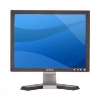 Flatskjerm til PC fra DELL, 19toms, modell E197FPb, VGA / 1280x1024, pent brukt