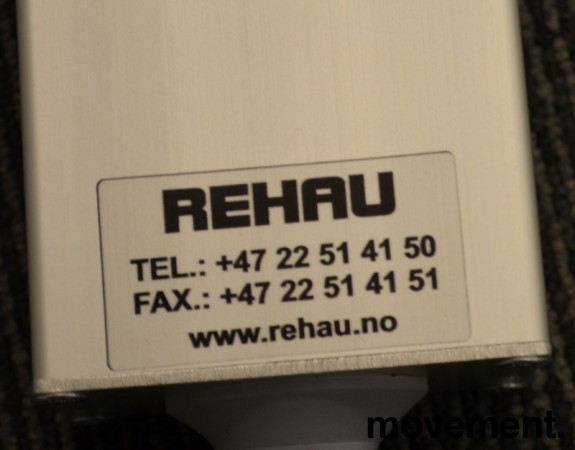 Strømfordeler / forgrener / skjøteledning fra Rehau med 2 nettverkspunkter CAT7 og 6 stk stikk, pent brukt bilde 3