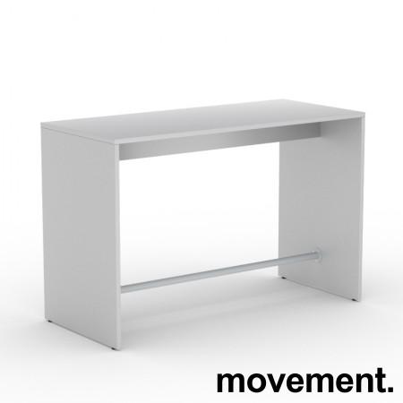 Ståbord / bardisk for sosial sone i hvitt, 180x70, NY/UBRUKT bilde 1