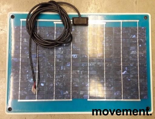 Båttilbehør: Solcellepanel Marlec Spectra 10W / 12V, step-on, pent brukt bilde 1