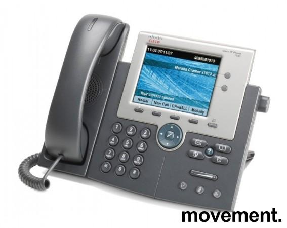 IP-telefon, Cisco IP Phone 7945 series, CP-7945G, pent brukt