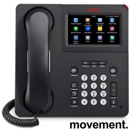 IP-telefon fra Avaya, modell IP Phone 9641G, pent brukt bilde 1