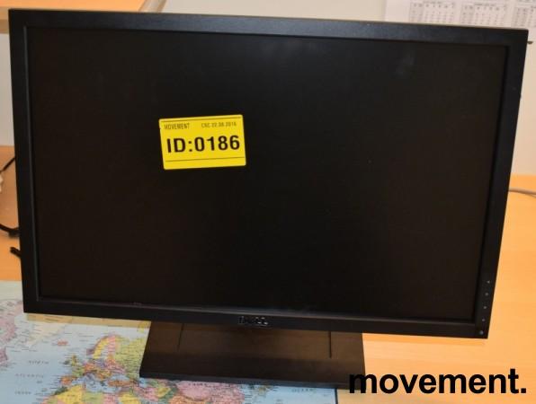 Flatskjerm til PC: Dell E2210f, 22toms, 1680x1050, VGA/DVI, pent brukt bilde 2