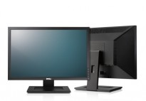Flatskjerm til PC: Dell E2210f, 22toms, 1680x1050, VGA/DVI, pent brukt