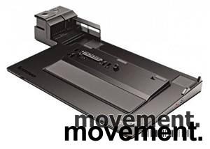 Docking til Lenovo Thinkpad bærbar PC, modell: Mini Dock 3, 4337, med lader, pent brukt bilde 4