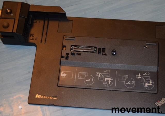 Docking til Lenovo Thinkpad bærbar PC, modell: Mini Dock 3, 4337, med lader, pent brukt bilde 3
