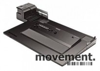 Docking til Lenovo Thinkpad bærbar PC, modell: Mini Dock 3, 4337, med lader, pent brukt
