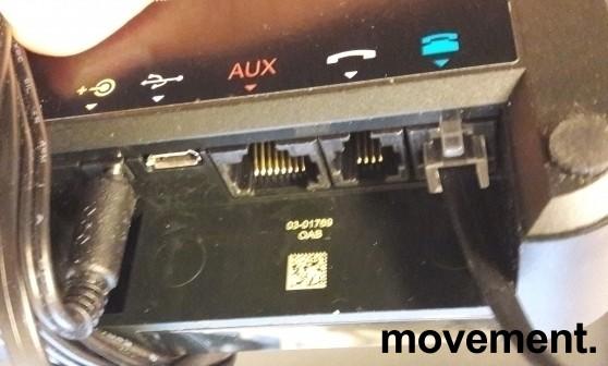Jabra GO 6470 Bluetooth headset med touch- og fargeskjerm på basen, pent brukt bilde 2