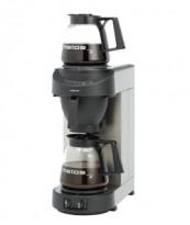 Metos proff kaffetrakter for storhusholdning, modell M200 i sort/rustfritt, fast vanntilkopling, varmeplate, pent brukt