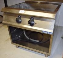 Metos vannbad / varmebad i rustfritt stål, 80cm bredde, pent brukt