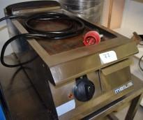 Metos 40cm bred flatgrill / stekeplate, 400Volt 3fas, pent brukt