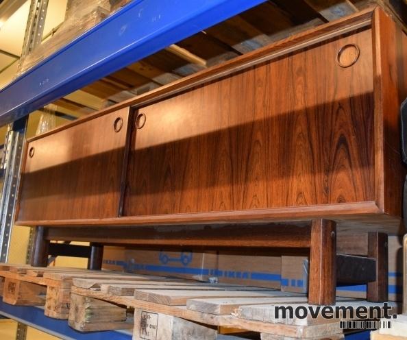 Fabelaktig Retro 60-talls-møbel i palisander:Skjenk / TV-benk med skyvedører MD-65