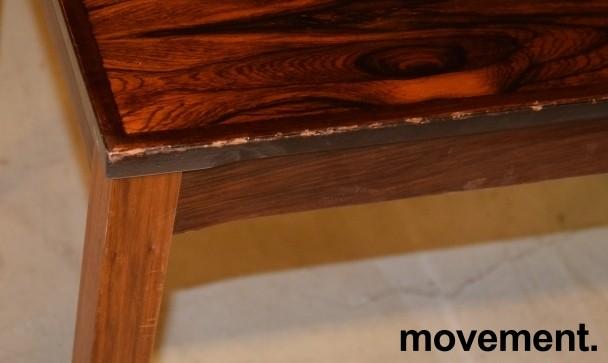 Retro 60-tallsbord i palisander fra Bruksbo Tegnekontor, 72x45x50,5cm, pent brukt bilde 3