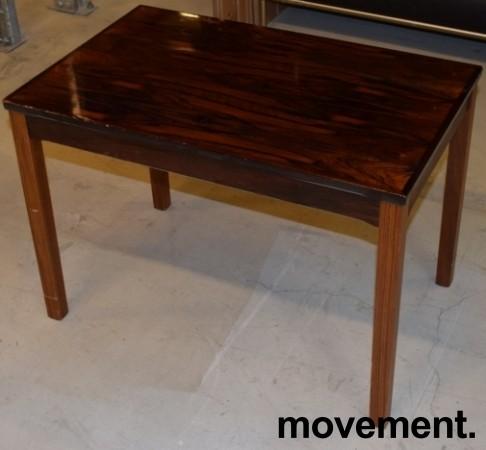 Retro 60-tallsbord i palisander fra Bruksbo Tegnekontor, 72x45x50,5cm, pent brukt bilde 5