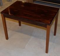 Retro 60-tallsbord i palisander fra Bruksbo Tegnekontor, 72x45x50,5cm, pent brukt