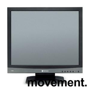 Flatskjerm til PC: Neovo F-419, 3ms, 19toms, 1280x1024, VGA/DVI, pent brukt