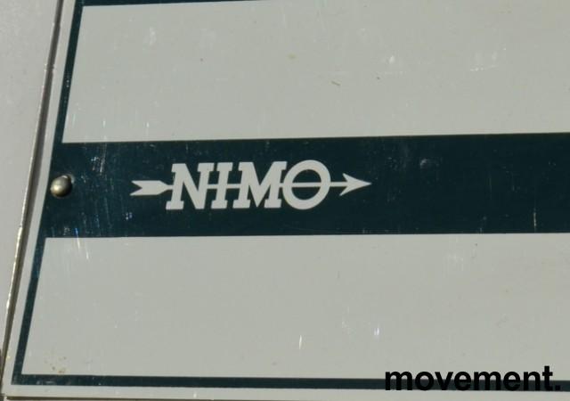 Eldre tørkeskap fra Nimo, bredde 60cm, høyde 191cm, pent brukt bilde 2