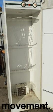 Eldre tørkeskap fra Nimo, bredde 60cm, høyde 191cm, pent brukt bilde 3