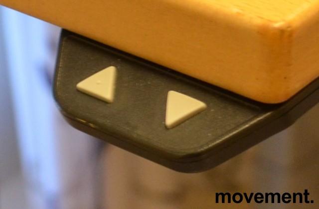 Understell til skrivebord med elektrisk hevsenk fra Linak, 180x120cm, venstreløsning, pent brukt bilde 2