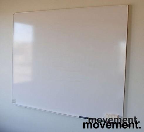 Whiteboard vegghengt 150x120cm, pent brukt
