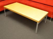Kinnarps Wilson loungebord i bjerk, 150x70cm, høyde 47cm, pent brukt