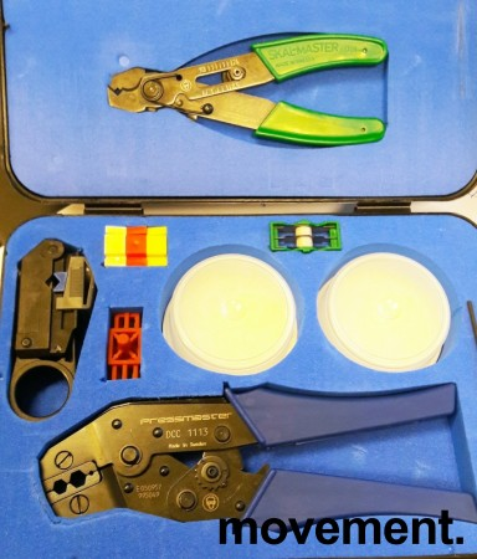 Pressmaster Coaxial Kit 1113 med Skal-Master-tang, og Pressmaster DCC1113 Crimptang etc, pent brukt bilde 1