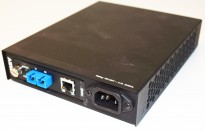 MRV Fiber MRV-NC316BU-1/15AC - fiber til ethernet overgang, RJ45 - TX/RX, pent brukt