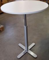 Loungebord fra Montana Djob, Ø=80, modell Multi med justerbar høyde (gasslift) 78-111cm, pent brukt