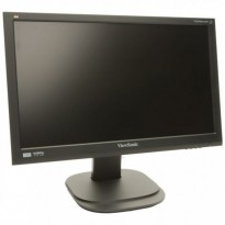 Flatskjerm til PC: ViewSonic VG2236wm-LED, 22toms, Full-HD 1920x1080, VGA/DVI, pent brukt