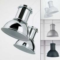 Kreadesign 71676 Work 280 CR taklampe / pendellampe i krom, Ø=28cm, NY / UBRUKT