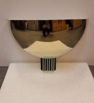 Art Deco vegglampe fra Tecnolumen, mod WAD 31 Ni, 370mm bredde, NY I ESKE