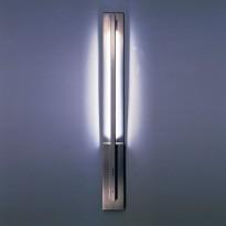 Vegglampe Tecnolumen WLS96 design: Thomas Schultz 1996, børstet stål, høyde 86cm, NY I ESKE