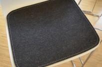 Sittepute i filt / ull fra Fraster til Duba B8 Molo barkrakk, pent brukt