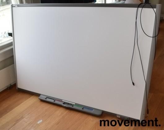 Smartboard, stort, 198x125cm, med short-throw prosjektor, pent brukt bilde 3