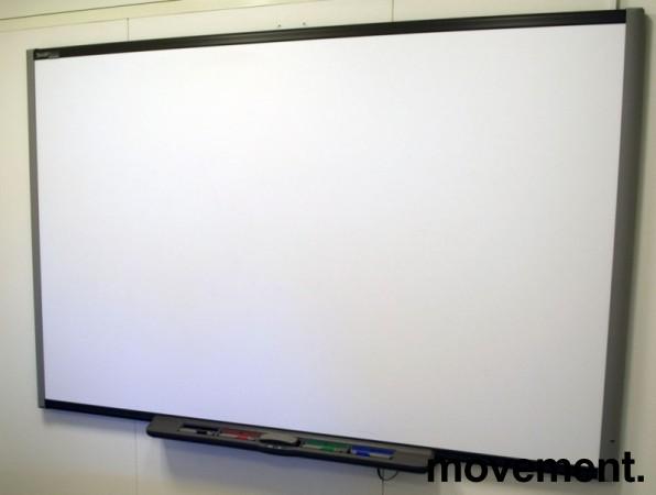Smartboard, stort, 198x125cm, med short-throw prosjektor, pent brukt bilde 1
