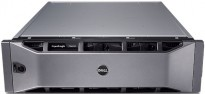 Dell SAN - Equallogic PS6010xv m/ 16 x 600GB 15K, Dual PSU, Dual 10Gb Controller, pent brukt 2011-modell