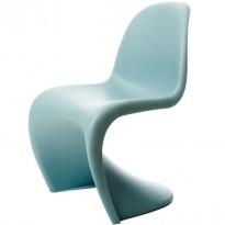Panton Chair i fargen Ice Grey fra Vitra, design: Verner Panton, pent brukt