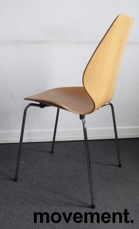 Designstol: ForaForm City i eik finer, norsk designklassiker i ny produksjon, pent brukt bilde 2