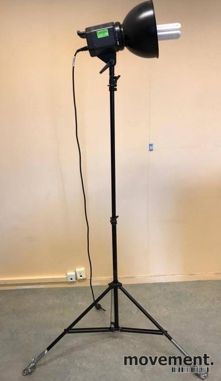 fotolampe fotolys spotlight lastolite rayd8 c3200 pa stativ pent brukt bilde 1 fotolampen huren amsterdam