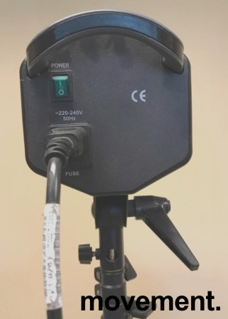 Fotolys / fotolampe /  Spotlight, Lastolite RayD8 C3200 på stativ, pent brukt bilde 4