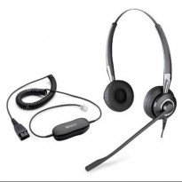 Jabra GN1200, hodetelefoner med Audio Enhancer og mikrofon, pent brukt.