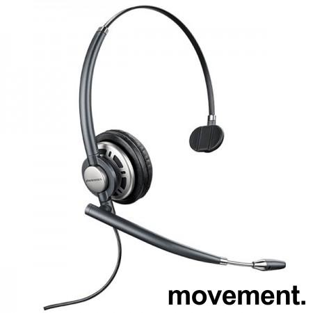 Plantronics EncorePro HW710 Mono Headset, hodetelefoner med mikrofon, pent brukt. bilde 2