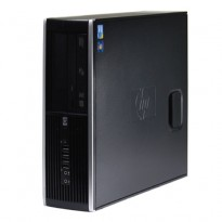 Stasjonær PC: HP Compaq Elite 8100 SFF, Core i7-860 2,8GHz / 4GB RAM / 250GB HDD, pent brukt