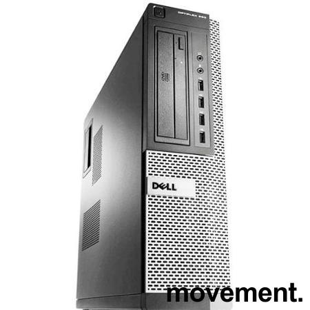Stasjonær PC: Dell OptiPlex 990 Ultraslim, Core i5-2500 3,3GHz Quad / 8GB / 250GB / Radeon HD6350, Pent brukt bilde 1